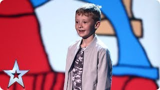 Stay savage! Watch out Judges, Ned Woodman is back! | Semi-Final 3 | Britain's Got Talent 2017