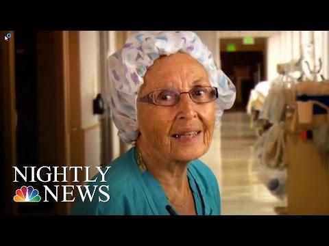 Inspiring America Meet America's Oldest Working Nurse NBC Nightly News