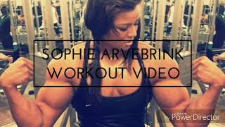SOPHIE ARVEBRINK # Swedish muscular girl with Killer body # Boys And Girls Fitness # 2017#