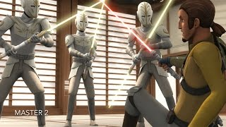 [Kanan vs Temple Guards] Star Wars Rebels Season 2 Episode 18 [HD]