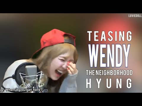 Red Velvet Wendy Teasing Wendy or Wendy sacrificing herself to make others laugh 레드벨벳 웬디