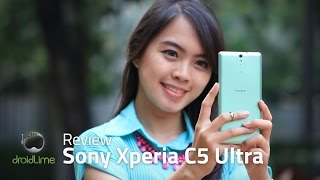 Sony Xperia C5 Ultra - Review Indonesia