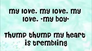 Girl's Day-Cupid with English Lyrics