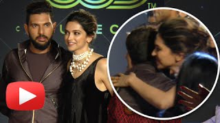 Deepika Padukone Hugs And Praises Her Ex Yuvraj Singh