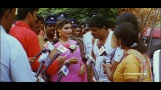 Rajathi Raja Movie Lawrence with Police Officer Scene || Raghava Lawrence, Karunas