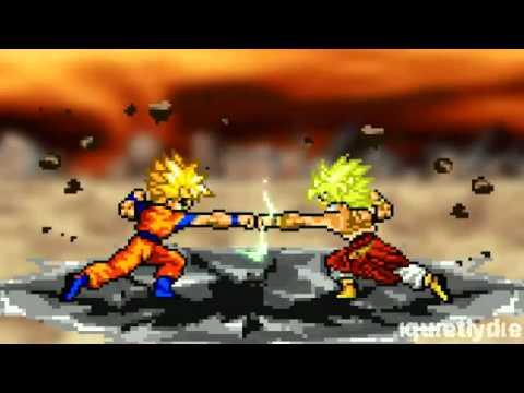 Goku vs Broly Part 1 Reupload