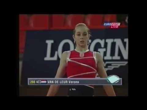 Verona van de Leur Floor 2002 European Championships AA