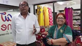 कपडा खरीदने का अनुभव लोगो से ही जानते है | Ajmera Fashion Biggest Cloth House In Surat
