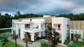 30000 Sq Ft Home with 13 BHK in Kottayam Ramapuram | Dream Home 27 Dec 2015