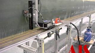 AIS:  Wind Turbine Blade Spar Cap Bond Line Inspection