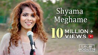 Shyama Meghame | ശ്യാമമേഘമേ | Adhipan | Malayalam | Sanah Moidutty