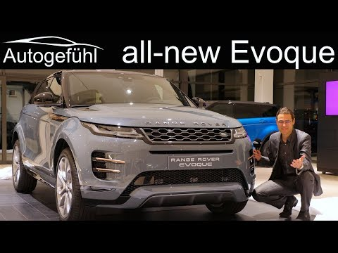 All new Range Rover Evoque REVIEW Exterior Interior 2019 2020 Autogefühl