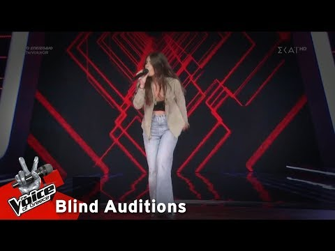 Xxx Mp4 Θεανώ Σακαλίδου Man Down 5o Blind Audition The Voice Of Greece 3gp Sex