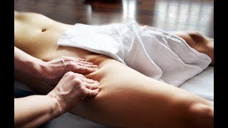 OMG! Miraculous ENERGIZING OIL MASSAGE - ASMR Technique - Lymphatic drainage