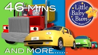 Vehicle Songs | Part 2 | Plus Lots More Nursery Rhymes | 46 Mins Compilation from LittleBabyBum!