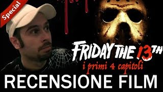 Recensioni Horror:  Venerdì 13 - Speciale I primi 4 Capitoli