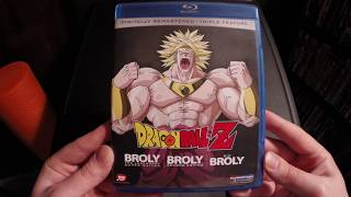 Dragon Ball Z: Broly Triple Feature Blu-Ray Unboxing
