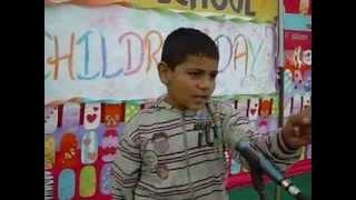 Funny song Kadi Taan paeke ja ni madam by a small school kid.