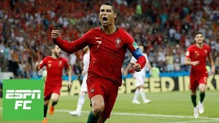 Cristiano Ronaldo's stunning hat trick earns Portugal 3-3 draw with Spain in 2018 World Cup | ESPN