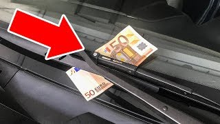 If You See Money on Your Windshield, Don