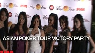 Asian Poker Tour Victory Party