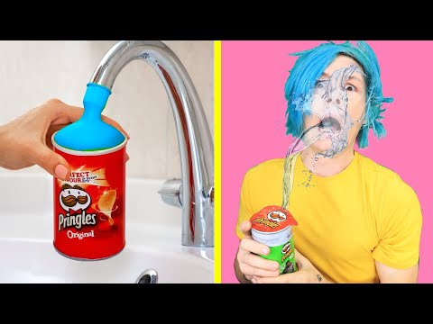 Trying TOP SIBLING PRANKS Trick Your Sisters and Brothers Funny DIY Pranks by 123 GO