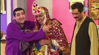 Zafri Khan Nasir Chinyoti and Naseem Vicky New Pakistani Stage Drama Full Comedy Clip