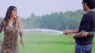 Nagarjuna exhibits his romantic angle to Shenaz Treasurywala | Eduruleni Manishi Movie Scenes