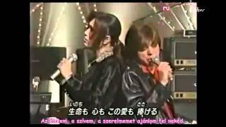 Gackt & Saijo Hideki Perform Kizu Darake no Lola hunsub+karaoke
