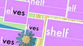 ves - Plurals - shelves, elves, hooves