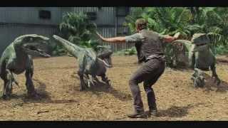 JURASSIC WORLD - Movie Clip #4 'Raptors' (2015) Chris Pratt Dinosaur Movie [720p]