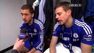Hazard and Azpilicueta: We came to win trophies