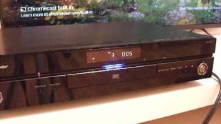 SACD Player Pioneer DV-LX50 playing SACD ISO