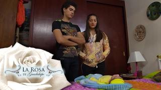 Florencia y Toño buscan deshacerse de su hijo   La noche de la gran luna   La Rosa de Guadalupe