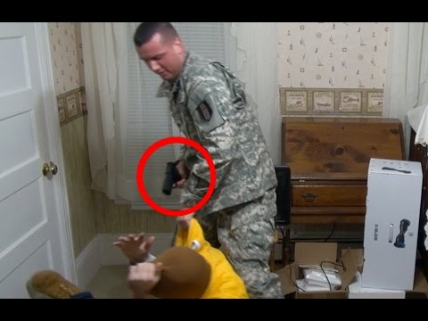 watch Robbery Prank on US Army Veteran Gone Wrong