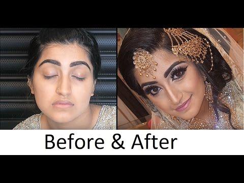Pakistani Asian Bridal Walima Makeover by Hirah Mughal