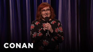 Emily Heller Stand-Up 01/09/17  - CONAN on TBS
