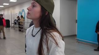 LDR Airport Meeting || Kris & Nina.