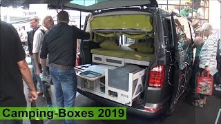 Camping Boxes 2019 (turn your car into camper)