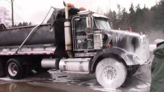 Brookswood Powerwashing in Langley, BC - dump truck Two step cleaning cleaning (Abbotsford,BC)