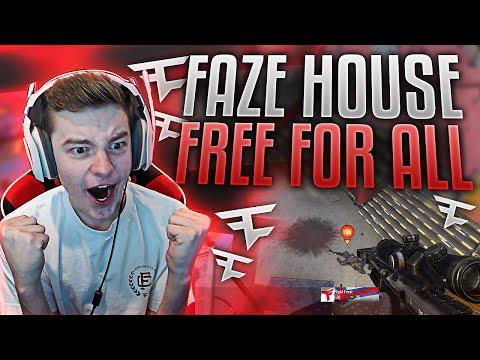 FAZE HOUSE FREE FOR ALL!