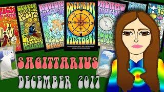 SAGITTARIUS DEC 2017 Dream the Impossible! Saturn-Capricorn Tarot psychic reading forecast