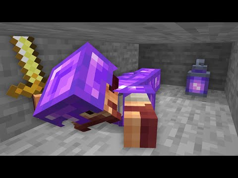 I gave Amethyst Ore an Update for Minecraft