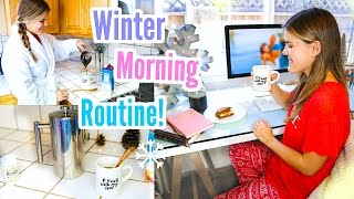 My Winter Morning Routine 2016!