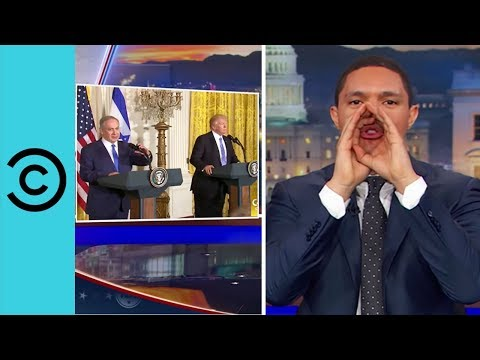Donald Solves the Israel Palestine Conflict The Daily Show Comedy Central