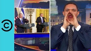 Donald Solves the Israel-Palestine Conflict - The Daily Show | Comedy Central