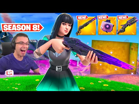 Nick Eh 30 reacts to Season 8 GAMEPLAY CHANGES