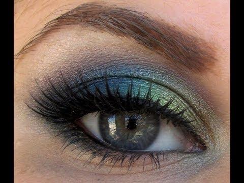 Peacock Makeup Tutorial Maquillaje inspiración PAVO REAL. Muy pedido