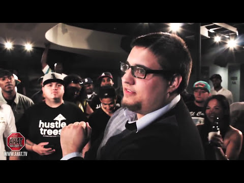 15 year old rapper vs nerd - rap battle - AHAT