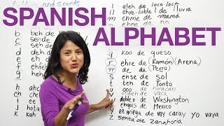 Learn how to say the letters and sounds in Spanish